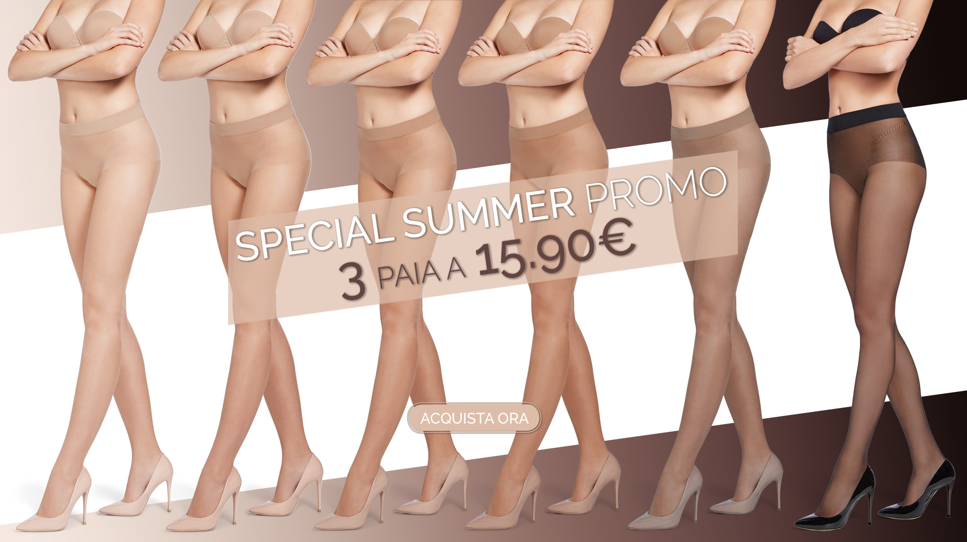 SPECIAL SUMMER PROMO 3paia a 15.90€