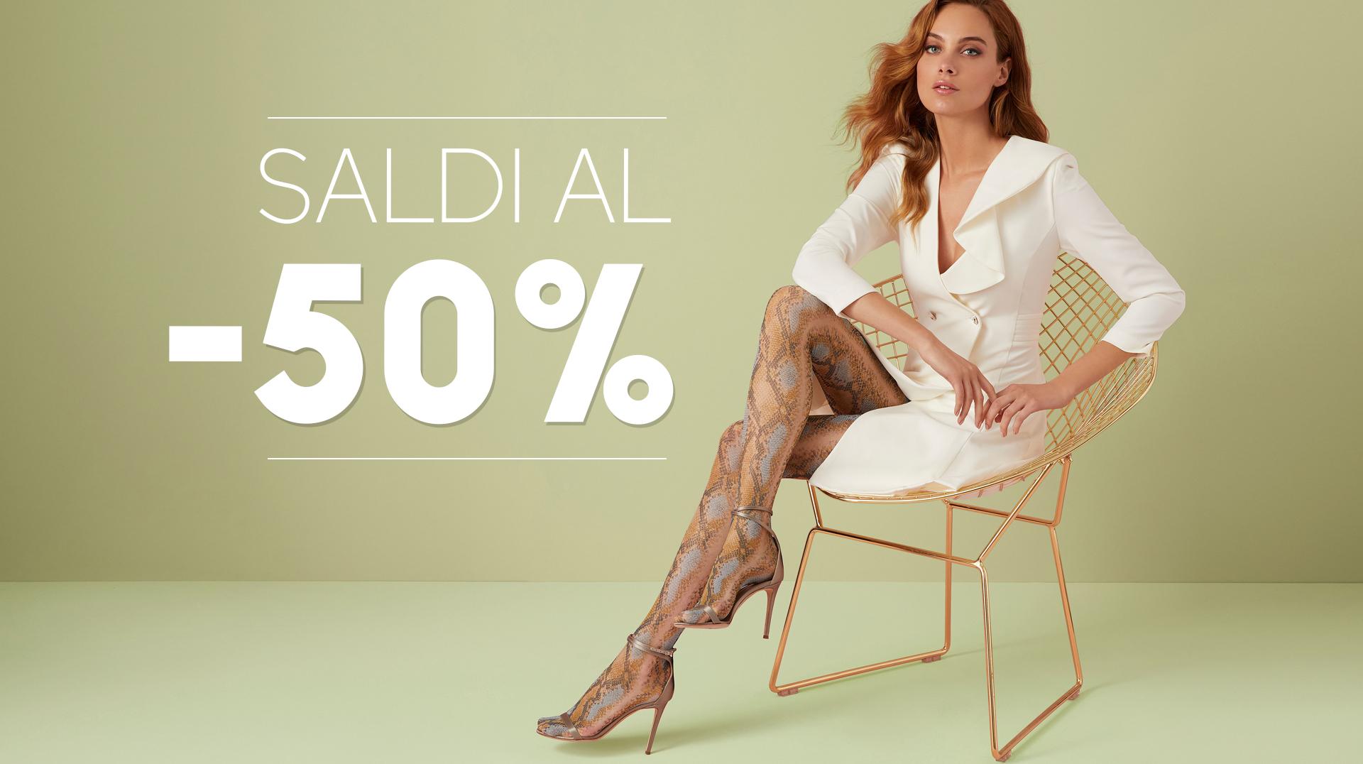 SALDI AL 50%